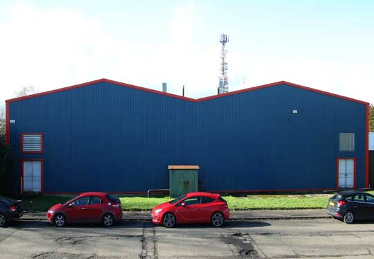 Industrial Roofing Glasgow And Cladding Contractors